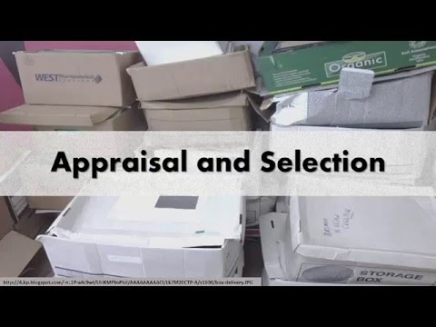 Appriasal and Selection