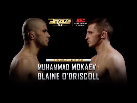 Muhammad Mokaev vs  Blaine O'Driscoll Fight Breakdown at BRAVE CF 54