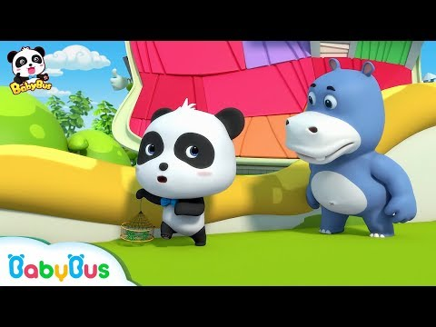 Baby Panda Catches Crabs for Mr.Dao | Baby Panda's Magic Tie | Magical Chinese Characters | BabyBus