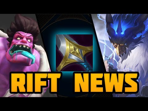 Rift News: Mythic Items, Wild Rift Beta & Ao Shin