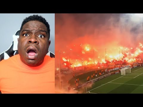 FIRST TIME WATCHING American Football Fans Vs European Football Fans - REACTION