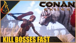 Kill World Bosses And Get Skeleton Keys Fast Conan Exiles 2018 Pro Tips