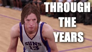 Steve Nash Through The Years - NBA Live 97 - NBA 2K16