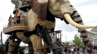 Les Machines de l'Île, L'éléphant (9 juin 2009)