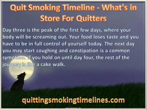 quit smoking timeline - what's in store for quitters - youtube, Skeleton