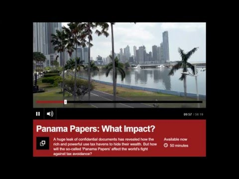 Felicity Huston BBC World  Have your say on #PanamaPapers 5 April 2016