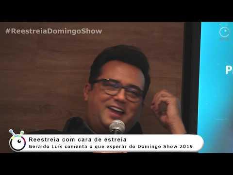 Coletiva de Imprensa Domingo Show - Geraldo Luís