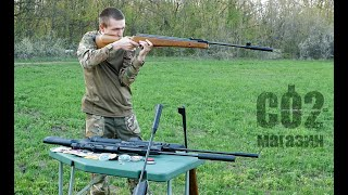 "Винтовки SPA Artemis, обзор, краш-тест, стрельба по мишени, стрельба через ""хрон"""