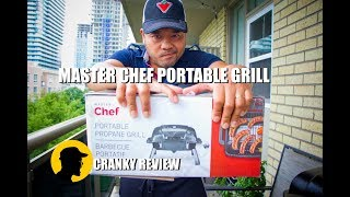 Master Chef Portable Grill Review - Cranky Review (Ep. 1)