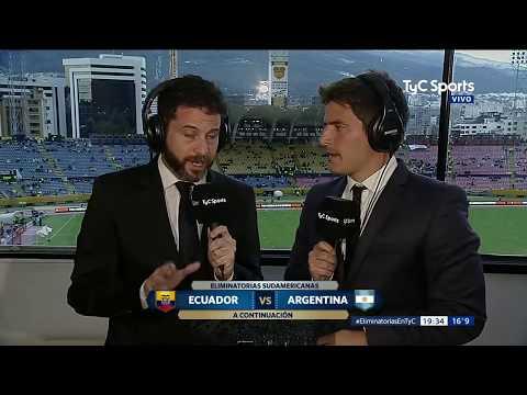 Ecuador vs Argentina - PARTIDO COMPLETO (Relato Argentino - De Paoli) - Eliminatorias Rusia 2018