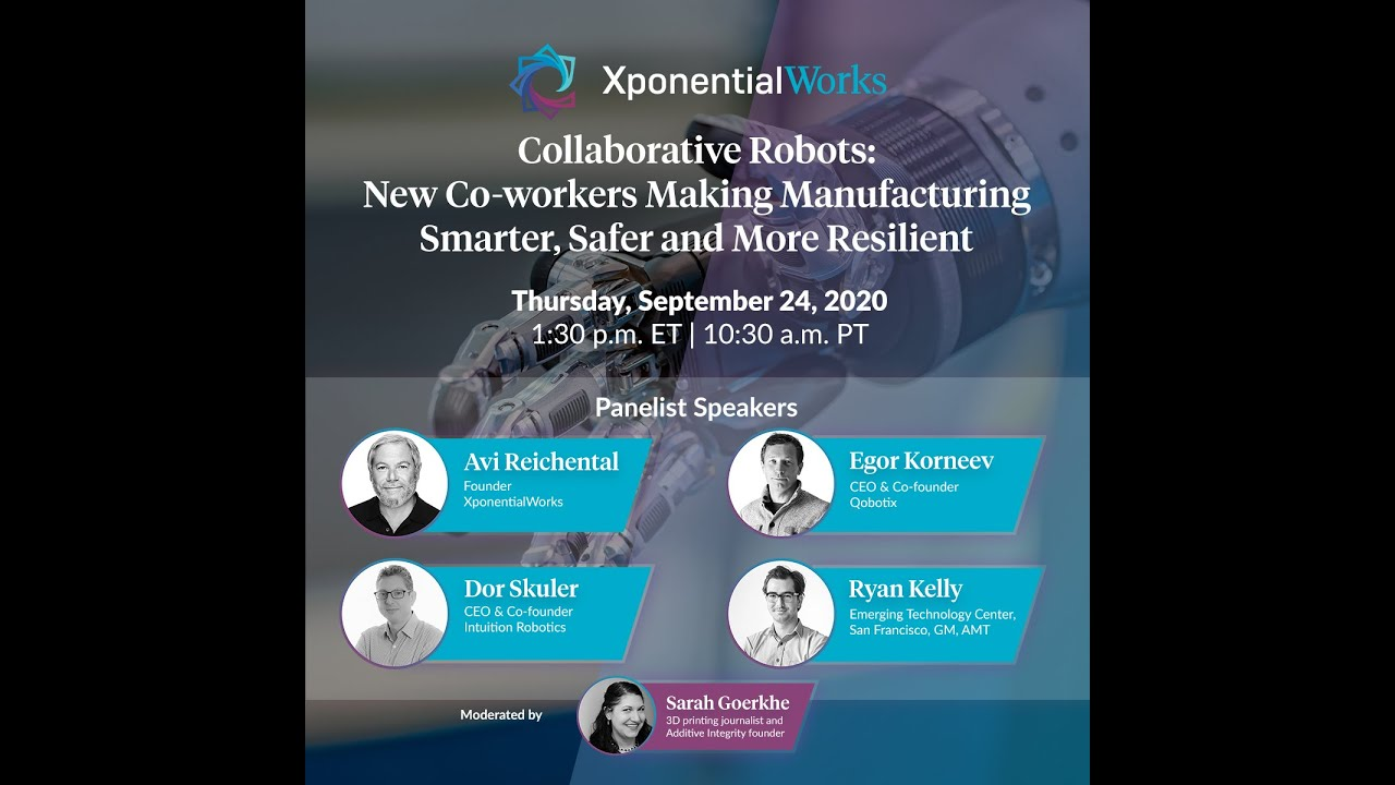 Collaborative Robots:New Co-workers Making ManufacturingSmarter, Safer and More Resilient