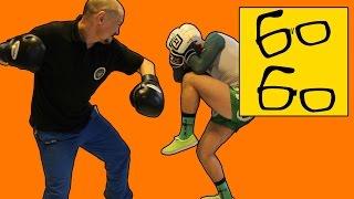 Защита от ударов в боксе с Николаем Талалакиным — уклоны и нырки, блоки и подставки, боевые стойки(Подписка на канал