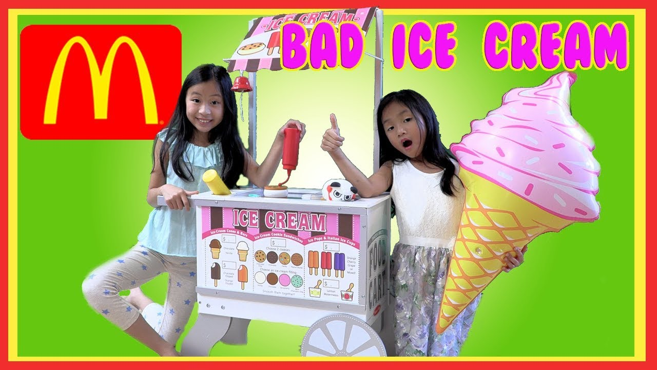 Pretend Play Ice Cream Food Truck with Ryan's Toy Review Toys