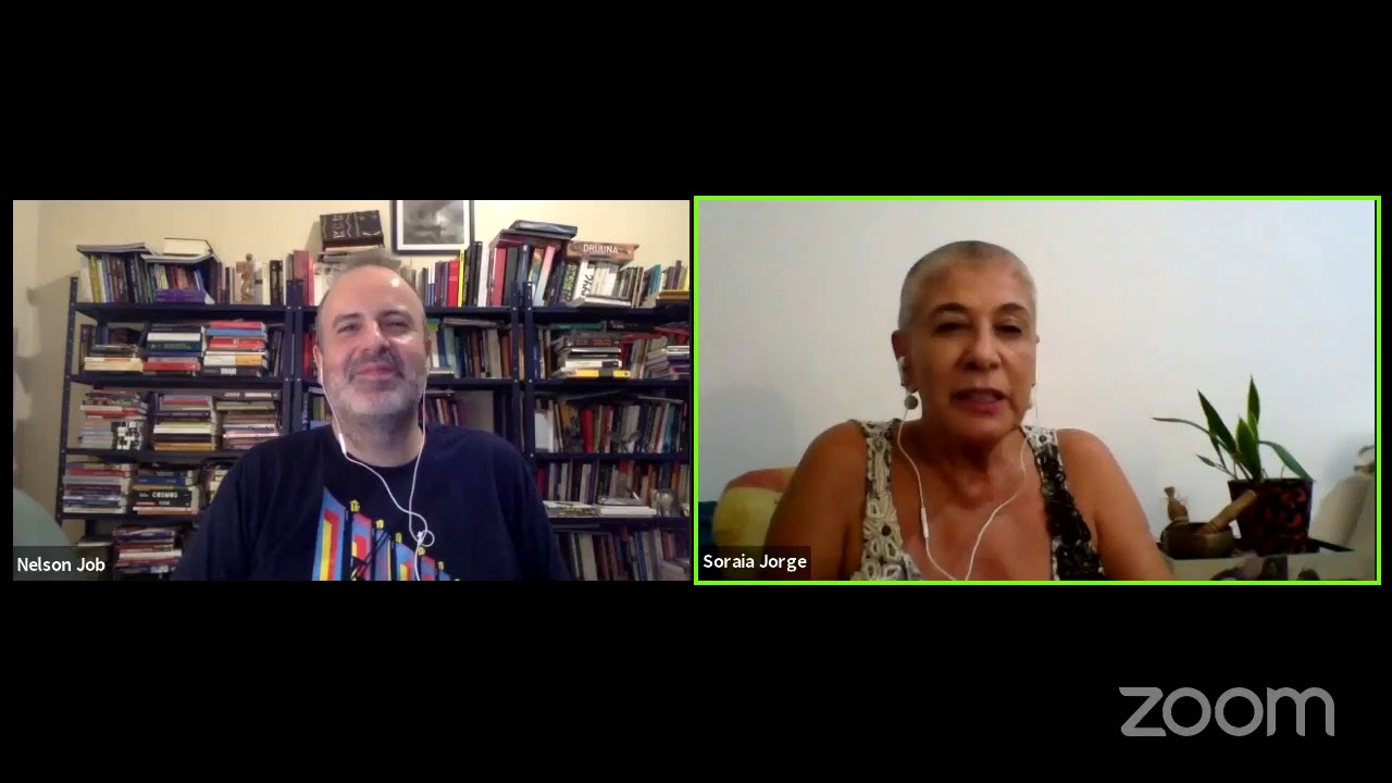 Nelson Job conversa com Soraya Jorge
