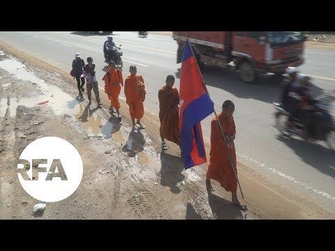Activists In Cambodia March Against Polluting Casino | Radio Free Asia (RFA)