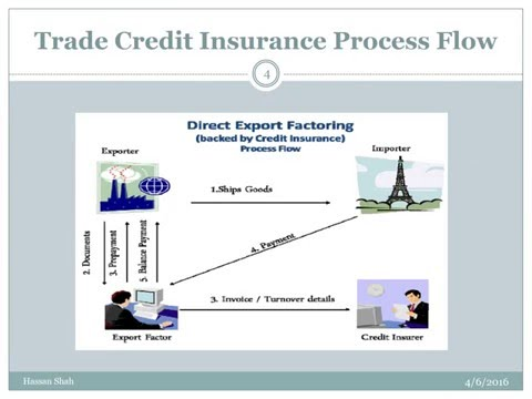 Impact of Trade Credit Insurance in Minimizing the Risk for Expanding International Trade