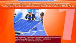 Best Solar Power (Energy Panels) Installation Company in Yarmouth Port Massachusetts MA