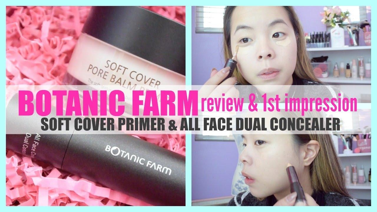 Botanic Farm: Soft Cover Pore Primer U0026 All Face Dual Concealer Review