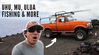 EPIC Camping, SPEARFISHING & UĮua Fishing HAWAII