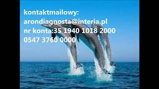 dane do kontaktu mailowego: arondiagnosta@interia.pl i wpłat ,nr konta