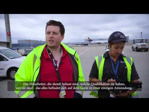 Frankfurt Airport and NetMotion (German Subtitles)