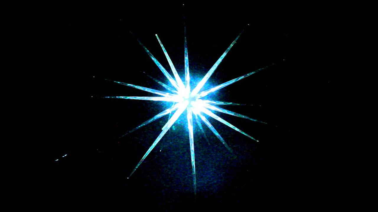 VickySun.com - Blast Ice Star Ball LED White - Christmas ...