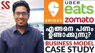 How do Uber Eats, Zomato, Swiggy Make Money? Online Food Delivery Business Model Case Study