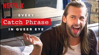 Gambar cover YASS Every Catch Phrase in Queer Eye | Netflix