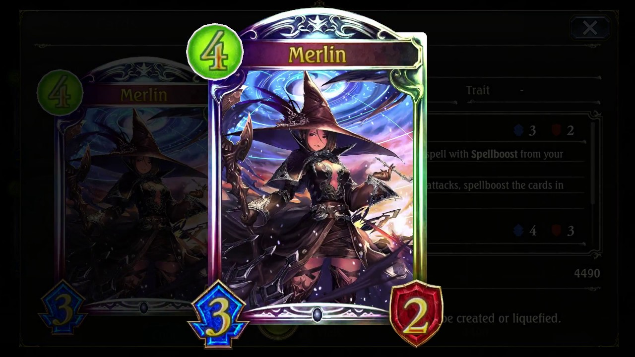 Shadowverse Alternate Art Animated Legendary Youtube