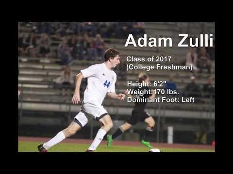 ADAM ZULLI | College Soccer Recruiting Video | 2016-2017
