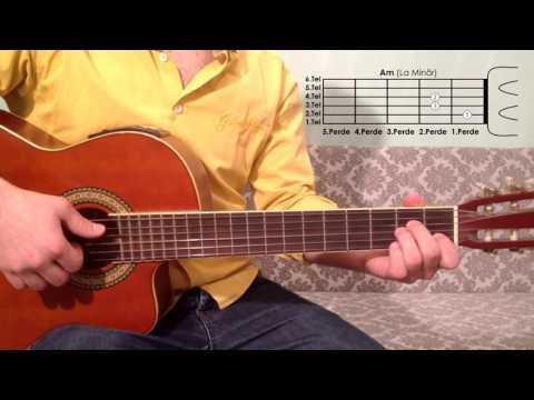 Am La Minör Akoru Nasıl Basılır Gitar Dersleri