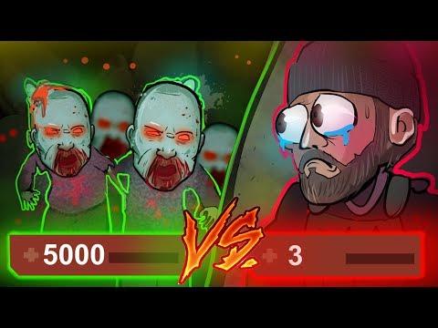 5000HP VS 3HP! 20 WIDZÓW VS JACOB w CSGO! Counter-Strike (CS:GO) na YouTube