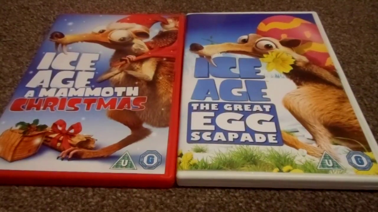 Ice Age A Mammoth Christmas And Ice Age The Great Egg