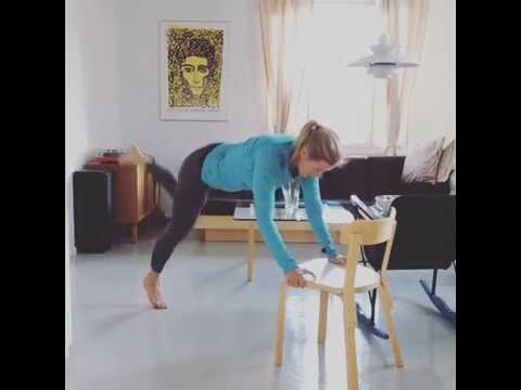 Home chair workout