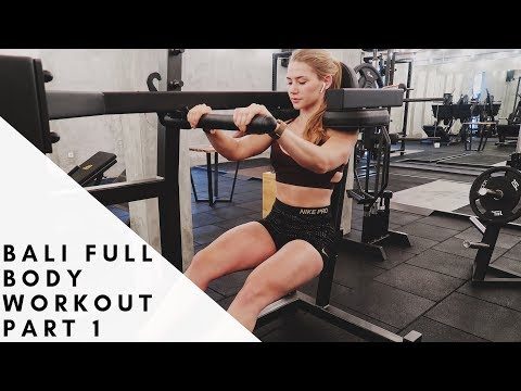Full Body Workout Part 1 at Body Factory Bali | AWESOME GYM!
