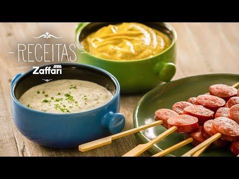 Molhos para petiscos – Receitas Zaffari