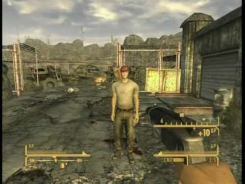 Fallout New Vegas Secret Weapon Big Boomer Youtube
