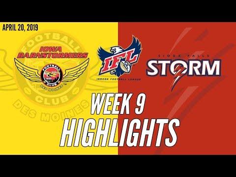 Week 9 Highlights: Iowa at Sioux Falls