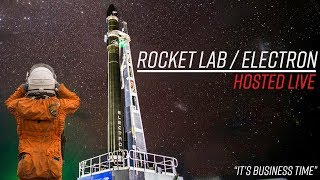 Watch Rocket Lab launch their first commercial payload!!!