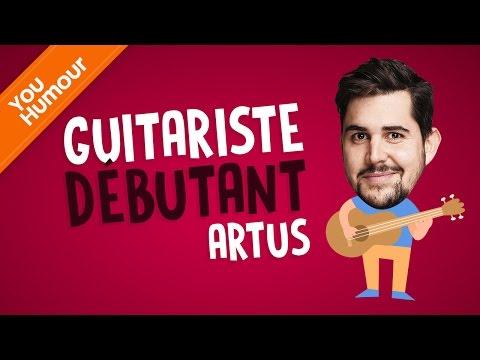 ARTUS - Guitariste débutant