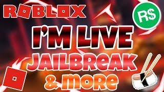 🔴(Roblox)🔴| Jailbreak & more games!| 🔴(Robuxs GIVEAWAYS)COME JOIN!