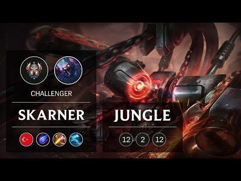 Skarner Jungle vs Lee Sin - TR Challenger Patch 9.1