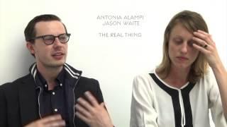 Interview Antonia Alampi & Jason Waite. NOUVELLES VAGUES