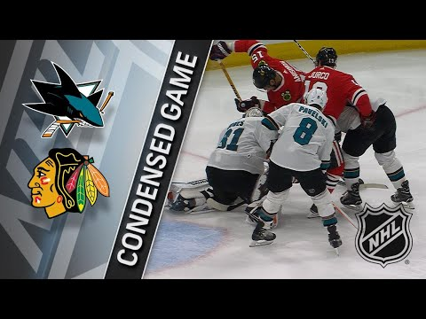 02/23/18 Condensed Game: Sharks at Blackhawks