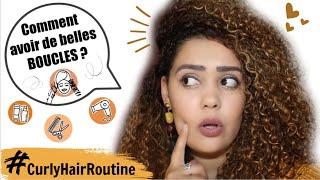 Comment avoir de belles boucles ? Ma Routine Cheveux bouclés et frisés / Curly Hair Routine !
