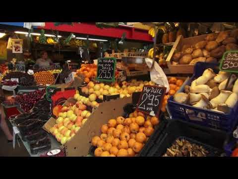 Malaga Central Market Spain