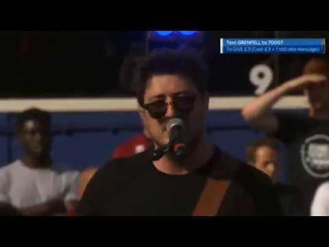 Marcus Mumford, Rita Ora, and Emeli Sandé - Lean on Me (Halftime at Game4Grenfell)