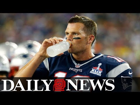 Tom Brady's water habit could kill an ordinary person