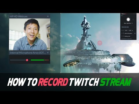 How to Record a Twitch Stream   3 Easy Ways