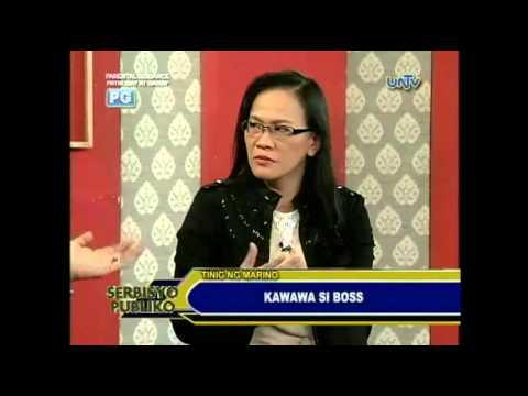 TINIG NG MARINO ON TV 77 - KAWAWA SI BOSS